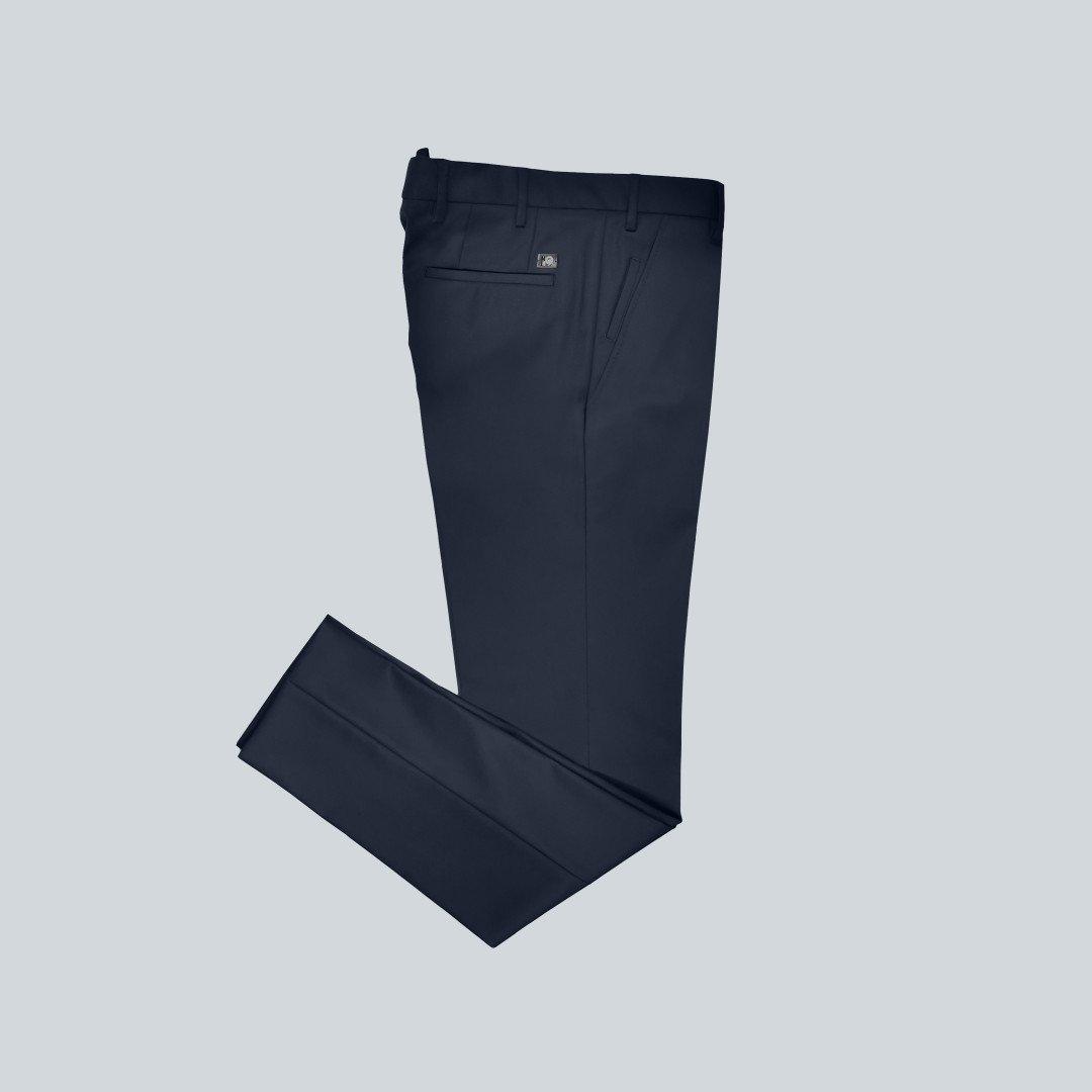 Men trousers blue