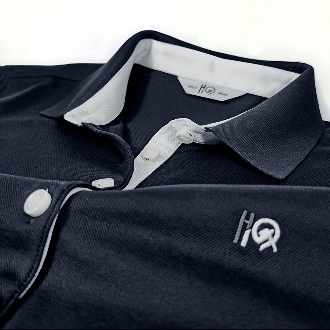 Woman Polo Shirt Golf Addict