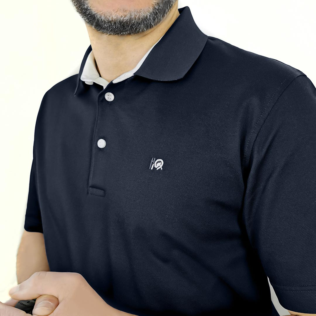 Men Polo Shirt Golf Addict